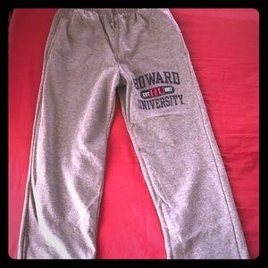Howard University sweatpants